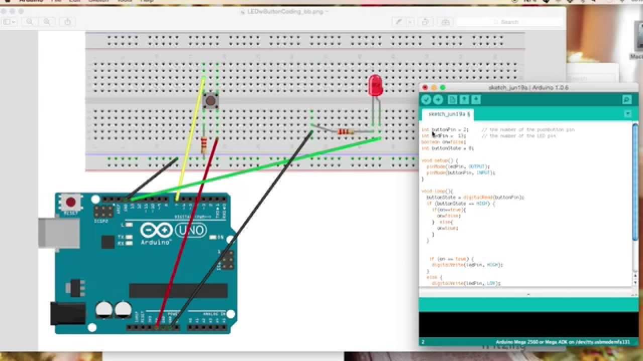 Arduino button switch project doovi