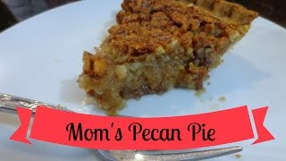 Vinnie's Vittles Mom's Pecan Pie