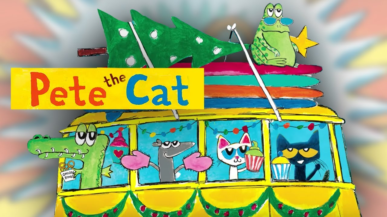 Pete The Cat Christmas.Pete The Cat S 12 Groovy Days Of Christmas Sing Along