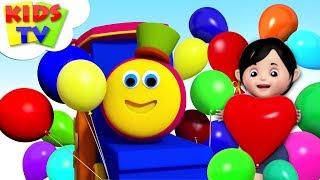 Balloon Song | Bob The Train Rhymes | Children Songs & Cartoon Videos - Kids TV