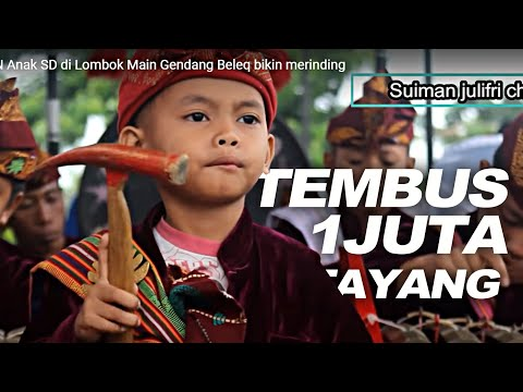 Aksi KEREN Anak SD di Lombok (Gendang Beleq) bikin merinding