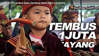 Download AKSI KEREN ANAK SD DI LOMBOK MEMAINKAN MUSIK TRADISIONAL GAMELAN