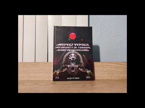 Download Galaxy of Terror Mediabook Blu-Ray / DVD Unboxing (Cover C) German import / NSM Records