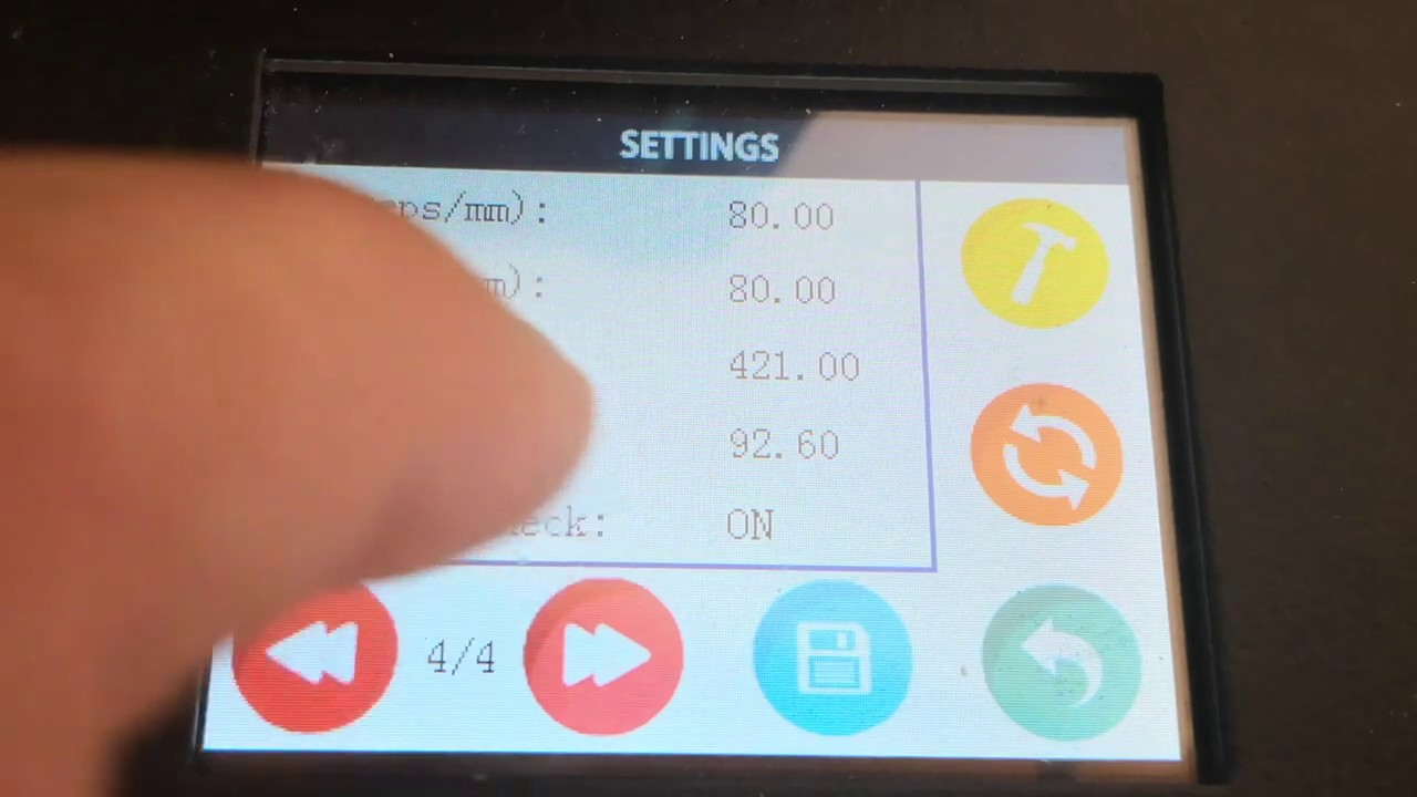 Comment paramétrer les axes XYZ de l'imprimante Alfawise u20 u30