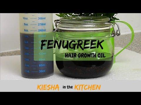 GROW YOUR HAIR w/ FENUGREEK HAIR GROWTH OIL {KIESHA ARIELLE}