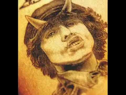 Tattoos of Angus Young