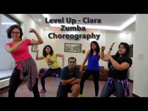 Level Up | Ciara | Zumba Fitness Choreography |