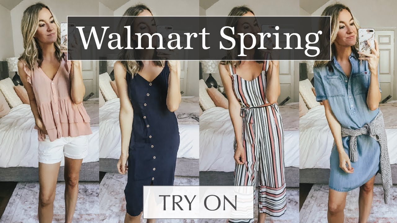 fc5dbad5faa Huge Walmart Spring Try On & Outfit Ideas | Life By Lee
