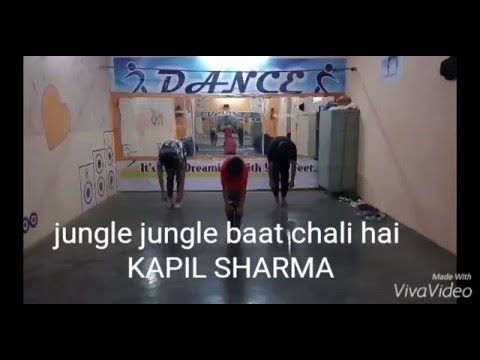 Jungle Jungle Baat Chali Hai | Dance | jungle book  Disney