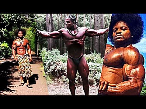 """""""African Beast"""" ARMZ KORLEONE   Golden Era Natural Bodybuilder (Motivation)"""