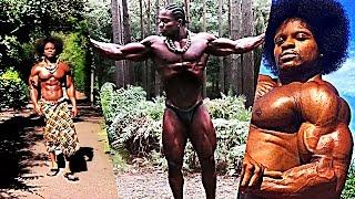 'African Beast' ARMZ KORLEONE | Golden Era Natural Bodybuilder (Motivation)