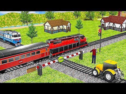 Euro Public Train Driving Simulator 2019 - Level 4 and Level 5