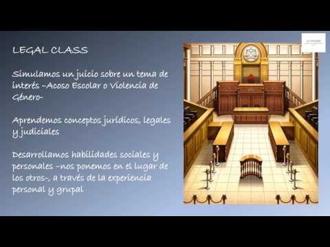 propuesta video de LEGAL CLASS