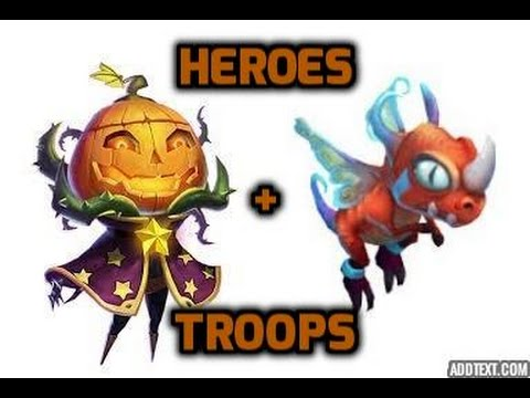 Castle Clash Beginner's Guide Heroes And Troops