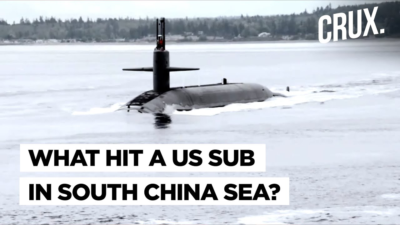 Nuclear submarine USS Connecticut damaged in South China Sea ...