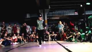 BGirl Spanish Hustle | Outbreak Hip Hop Festival 2014