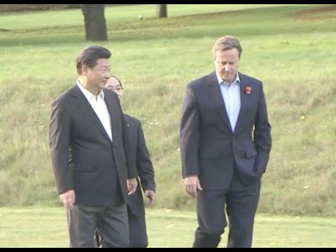 China's Xi, UK's Cameron Hold Talks, Enjoy Pub Chat at Chequers