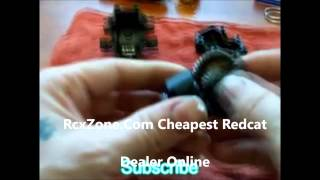 How To Easily Lock The Rear Differential On The Redcat Backdraft 3.5 RcxZone.Com