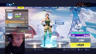 Fortnite free skins clan tryouts 0 wins grinding season 7 tiers with subs #GIVEAWAY