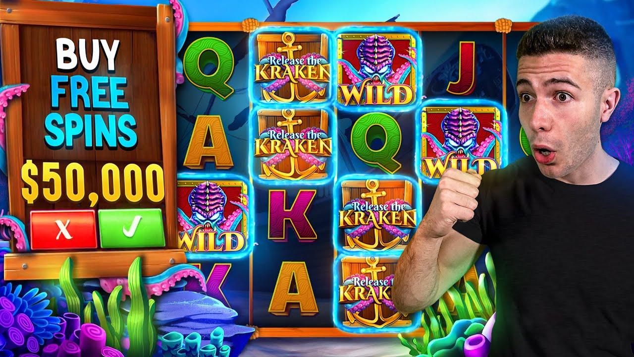 $50,000 Bonus Buy on RELEASE THE KRAKEN 🐙 (50K Bonus Buy Series #17)
