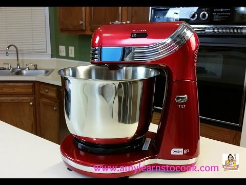 Dash Go Everyday Stand Mixer Unboxing