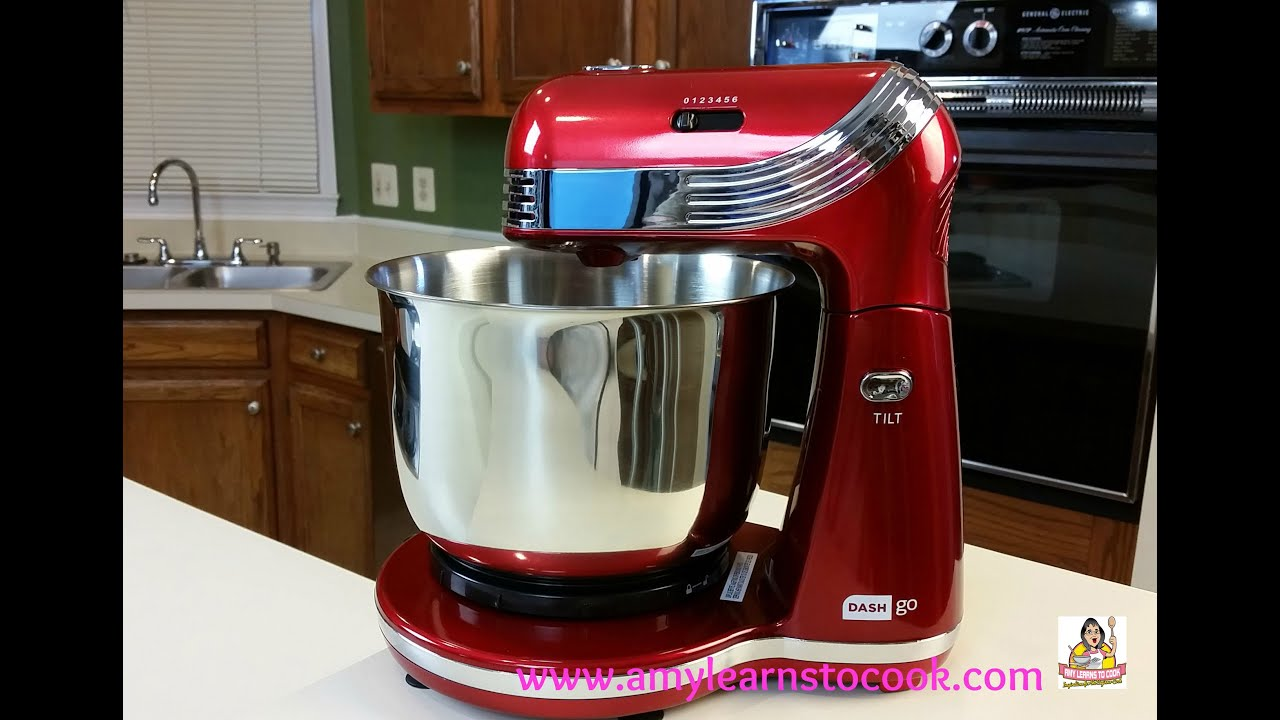 Dash Go Everyday Stand Mixer Unboxing Youtube