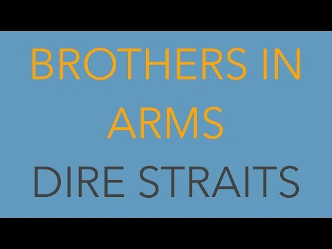 Brothers In Arms (Dire Straits) – Bilingual (English/German) Karaoke Video (Englisch/Deutsch)