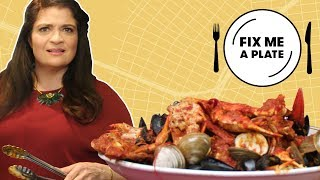 Two-Pound Seafood Pasta at The Original Crab Shanty | Fix Me a Plate