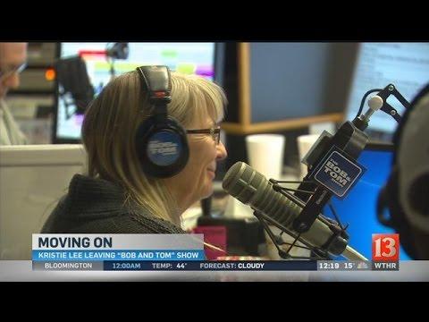 Kristi Lee announces she is leaving Bob & Tom Show