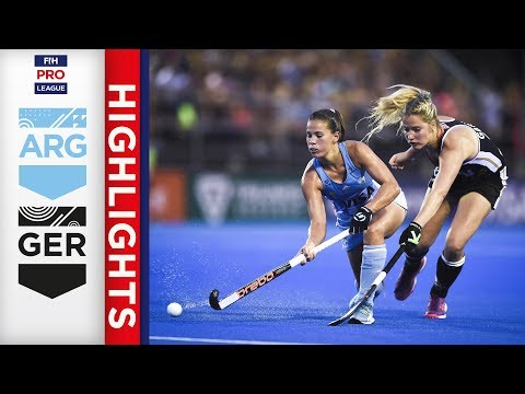 Argentina v Germany | Week 6 | Women's FIH Pro League Highlights