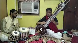 ARUN KUMAR SAHA SITAR Artist Facebook Live Performance Dare 21 Des  2020