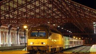 Trenes en Medina del Campo abril 2014