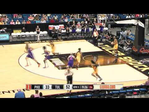 Game Recap: Phoenix Mercury vs. Tulsa Shock,6/6/2014