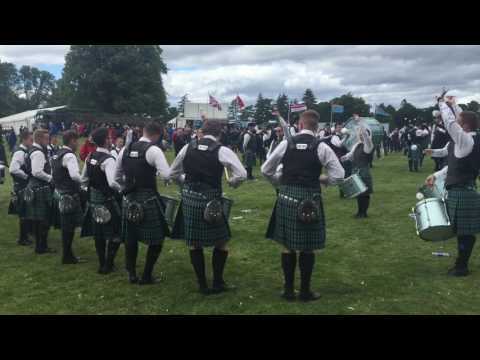 Inveraray & District Drum Corps - European Pipe Band Championships 2017