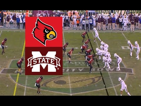 Mississippi State Vs Louisville Football Bowl Game 12 30 2019