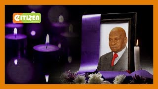 Dr. Charles Rubia laid to rest at his Murang'a home