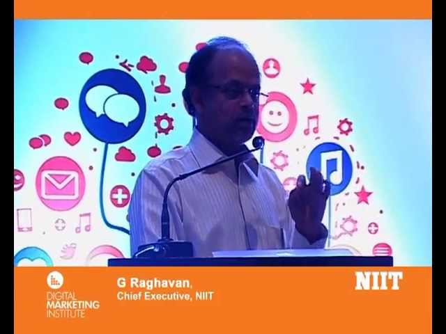 G Raghavan  Chief Executive  NIIT talks about the PDDM Programme - YouTube