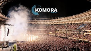 Komora Rental - MONATIK Love It РИТМ Olympic NSC