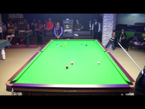 Stephen Lee Exhibition 2014 - Stephen Lee vs S.S Low at Niche Snooker Academy