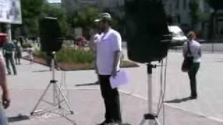 Обманутые дольщики Ростова на Дону митинг 17 07 2010 часть 1
