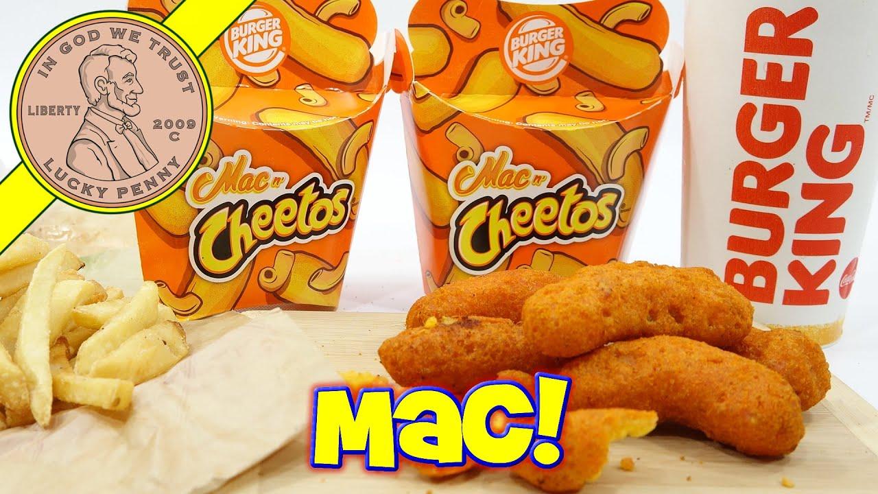 Burger King Mac N CheetosTM Hand Held Mac N Cheese Fast Food Snack