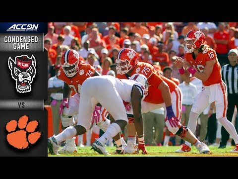 NC State vs. Clemson Condensed Game | 2018 ACC Football