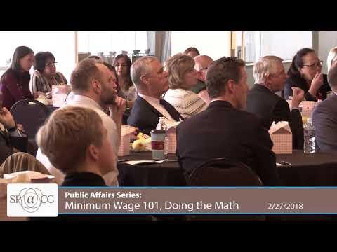Minimum Wage 101, Doing the Math - SPACC