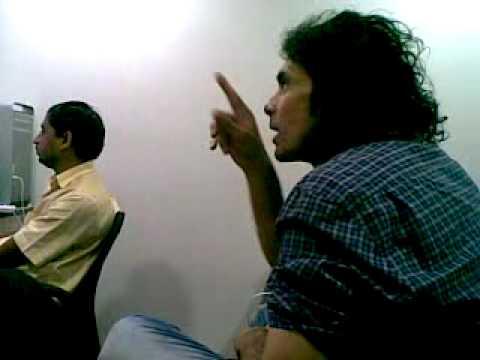 Rockstar In Edit Room, Imtiaz Ali Discussing Sound Design with Dileep Sir.mp4
