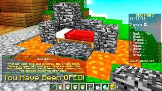 ADMIN GAVE ME OP in MINECRAFT BED WARS! #Minecraft
