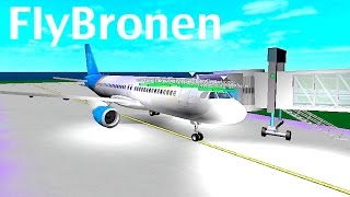 ROBLOX | FlyBronen A320 Flight