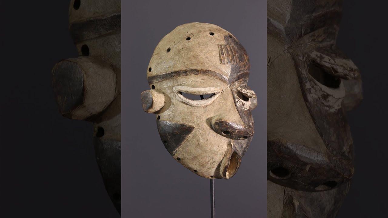 Art africain - Masque africain - Masque Pende Mbangu - YouTube