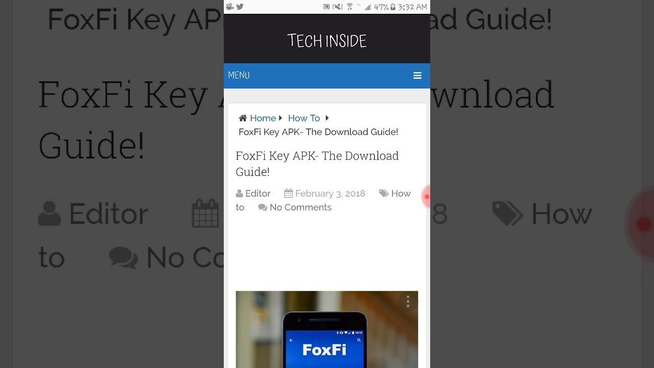 FoxFi Key APK- The Download Guide! - Tech Inside