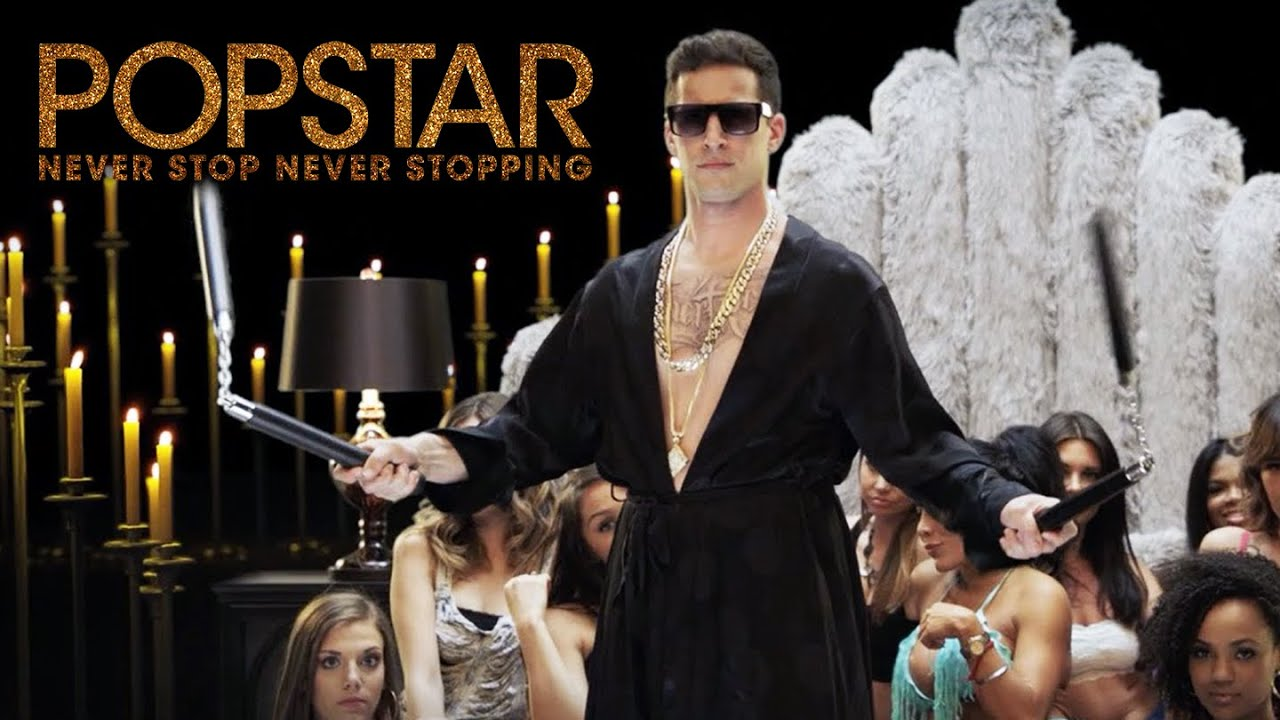 Image result for popstar never stop never stopping youtube