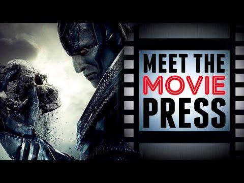 X-Men Apocalypse Trailer, Golden Globe Noms & More! | Meet The Movie Press (December 11th, 2015)